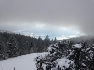 Blick von der Neureuth zum Tegernsee