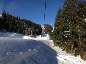 Skifahren Spitzing