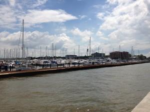Cervia Hafen